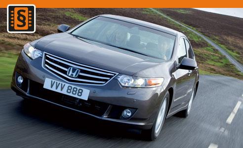 Chiptuning Honda Accord 2.2 i-CDTi 103kw (140hp)