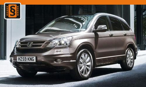 Chiptuning Honda CR-V 2.2 i-DTEC 110kw (150hp)