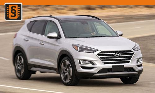 Chiptuning Hyundai Tucson 1.6 CRDi 100kw (136hp)