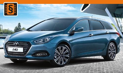 Chiptuning Hyundai i40 1.7 CRDi 104kw (141hp)