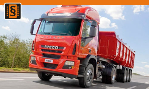 Chiptuning Iveco Cursor 8-350  257kw (350hp)