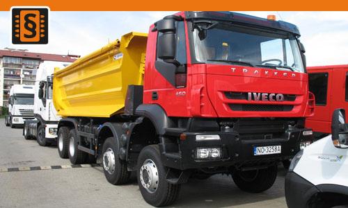 Chiptuning Iveco EuroTrakker  E35 257kw (350hp)