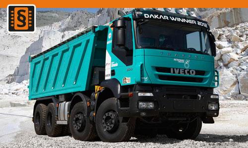 Chiptuning Iveco Trakker  T31 228kw (310hp)