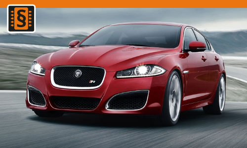 Chiptuning Jaguar XF 3.0S V6 250kw (340hp)
