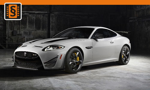 Chiptuning Jaguar XKR 5.0 V8 Supercharged 375kw (510hp)