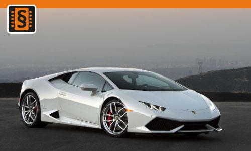 Chiptuning Lamborghini Huracan 5,2 LP Performante 471kw (640hp)