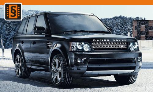 Chiptuning Range Rover 3.0 TDV6 180kw (245hp)