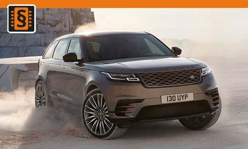Chiptuning Range Rover Velar 2.0D 132kw (180hp)