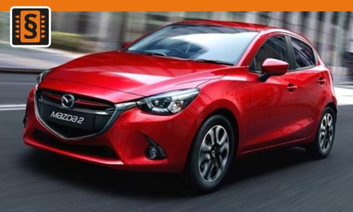 Chiptuning Mazda 2 1.5 Skyactiv-G 66kw (90hp)