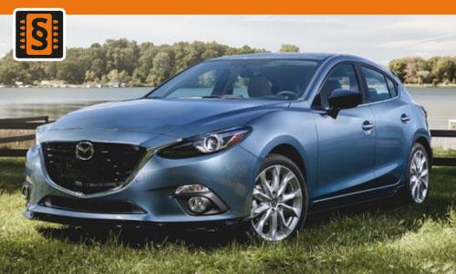 Chiptuning Mazda 3 2.0 Skyactiv-G 88kw (120hp)