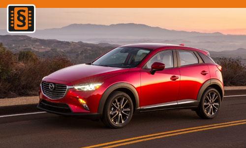 Chiptuning Mazda CX-3 2.0 Skyactiv-G 110kw (150hp)