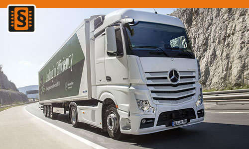 Chiptuning Mercedes Actros 350  260kw (353hp)