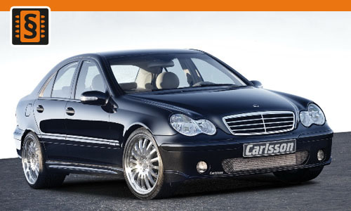 Chiptuning Mercedes-Benz C-Class 350 CDI 170kw (231hp)