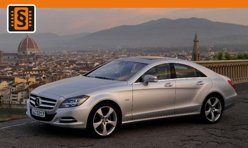 Chiptuning Mercedes-Benz CLS 400 245kw (333hp)