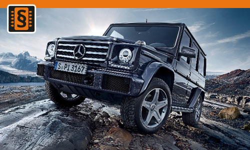 Chiptuning Mercedes-Benz G-Class 270 CDI 115kw (156hp)