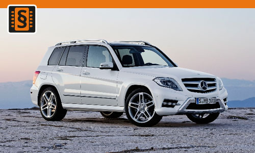 Chiptuning Mercedes GLK 200 CDI (2.1) 105kw (143hp)