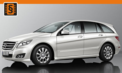 Chiptuning Mercedes-Benz R-Class 300 CDI 140kw (190hp)