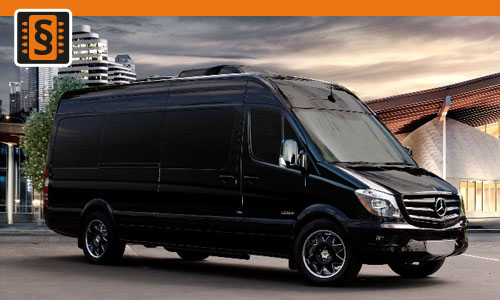 Chiptuning Mercedes Sprinter 516 CDI 120kw (163hp)