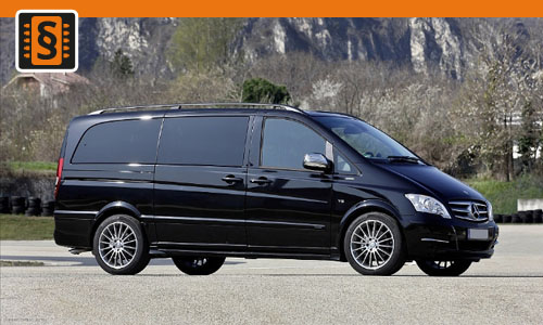 Chiptuning Mercedes Viano 3.0 CDI 165kw (224hp)