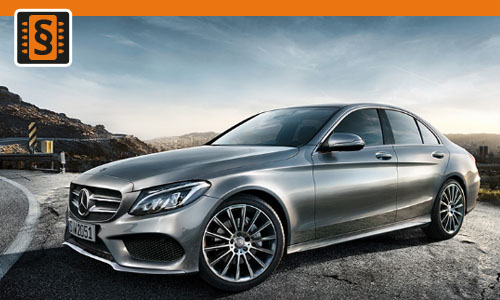 Chiptuning Mercedes C 200d (1.6) 118kw (160hp)