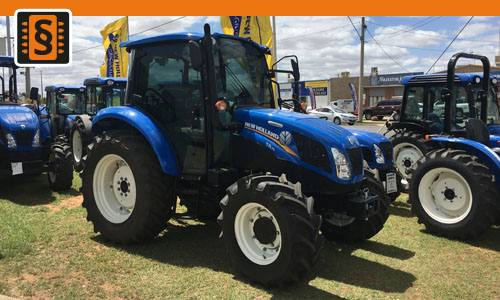 Chiptuning New Holland T4 T4.85  62kw (84hp)
