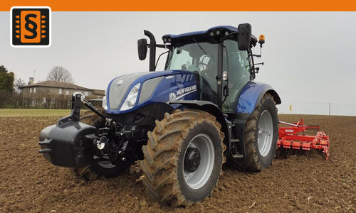 Chiptuning New Holland T6 T6.160  96kw (130hp)