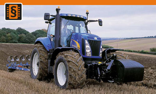 Chiptuning New Holland T8000 T8050  239kw (325hp)