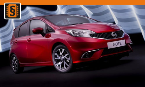 Chiptuning Nissan Note 1.5 dCi 66kw (90hp)