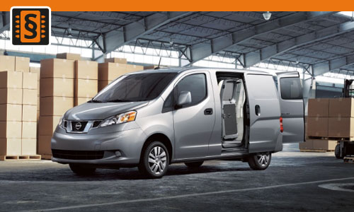Chiptuning Nissan NV200 1.5 dCi 81kw (110hp)
