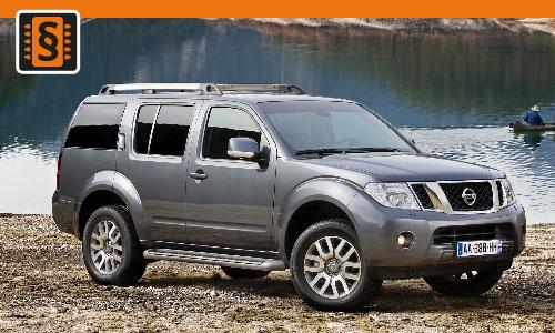 Chiptuning Nissan Pathfinder 2.5 dCi 128kw (174hp)