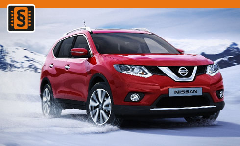 Chiptuning Nissan X-Trail 1.6 dCi 96kw (130hp)