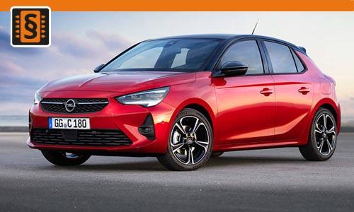 Chiptuning Opel Corsa 1.5 CDTi 75kw (102hp)