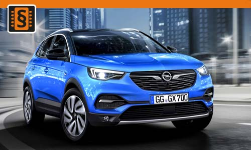 Chiptuning Opel Grandland X 1.2 Turbo 96kw (130hp)