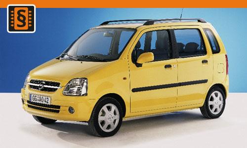 Chiptuning Opel Agila 1.3 CDTi 51kw (70hp)