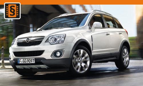 Chiptuning Opel Antara 2.0 CDTi 110kw (150hp)