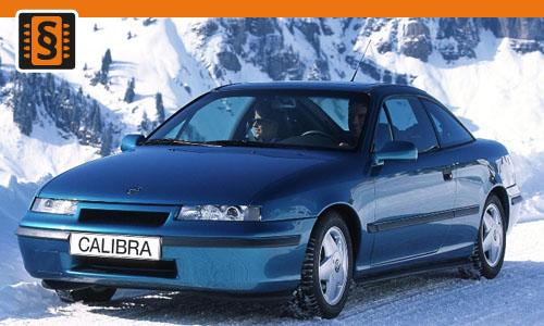 Chiptuning Opel Calibra 2.0 Turbo 150kw (204hp)
