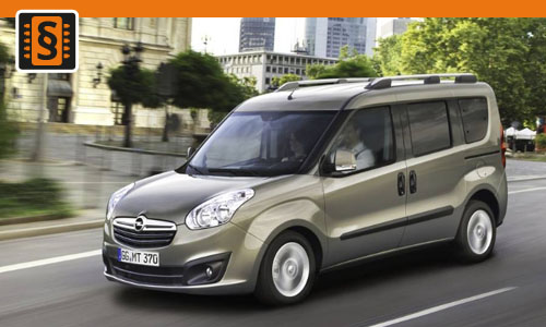 Chiptuning Opel Combo 1.3 CDTi 66kw (90hp)