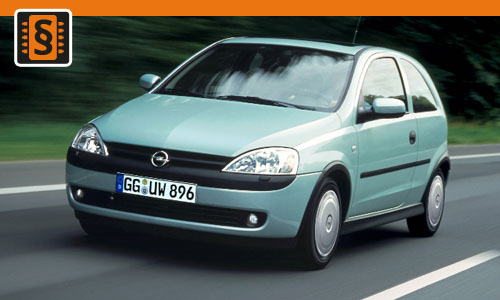 Chiptuning Opel Corsa 1.3 CDTi 51kw (70hp)