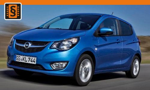 Chiptuning Opel Karl 1.0i  55kw (75hp)