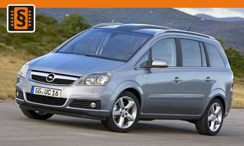 Chiptuning Opel Meriva 1.7 CDTi 92kw (125hp)