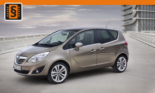 Chiptuning Opel Meriva 1.7 CDTi 96kw (130hp)