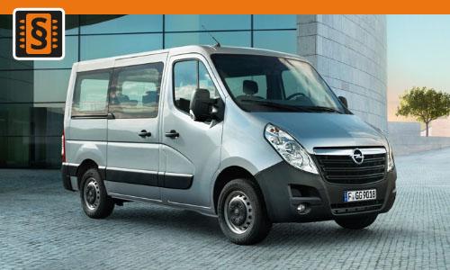 Chiptuning Opel Movano 2.3 CDTi 92kw (125hp)