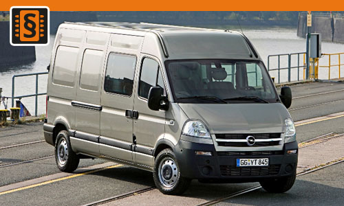 Chiptuning Opel Movano 2.5 CDTi 88kw (120hp)