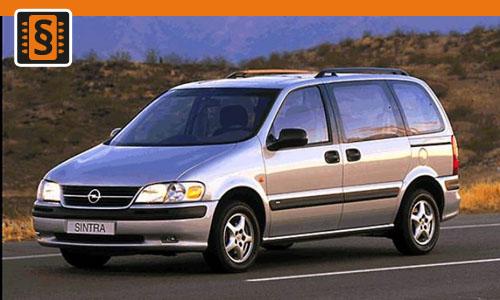 Chiptuning Opel Sintra 2.2 DTI 85kw (115hp)
