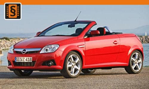 Chiptuning Opel Tigra TwinTop 1.3 CDTi 51kw (70hp)