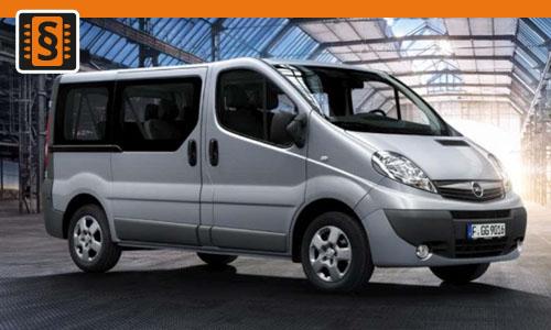 Chiptuning Opel Vivaro 1.9 DTI 74kw (100hp)