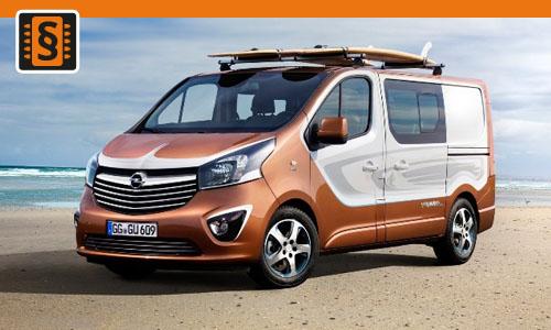 Chiptuning Opel Vivaro 1.6 CDTi Bi-Turbo 107kw (145hp)