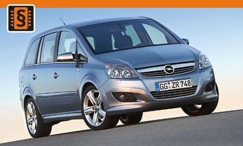 Chiptuning Opel Zafira B 1.7 CDTi 81kw (110hp)