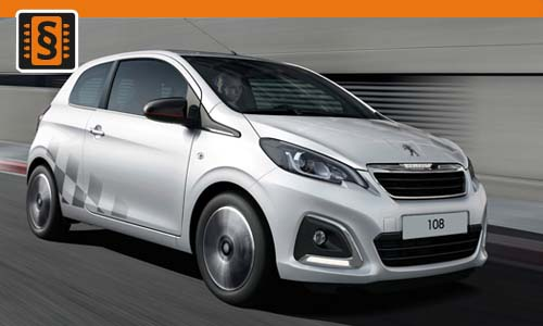 Chiptuning Peugeot 108 1.0 i 50kw (68hp)