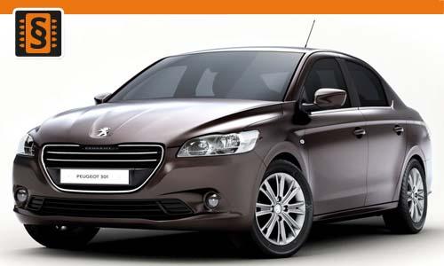 Chiptuning Peugeot 301 1.6 BlueHDi 73kw (100hp)